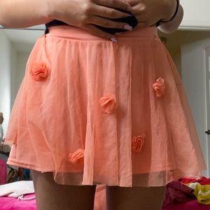 American Girls tulle skirt